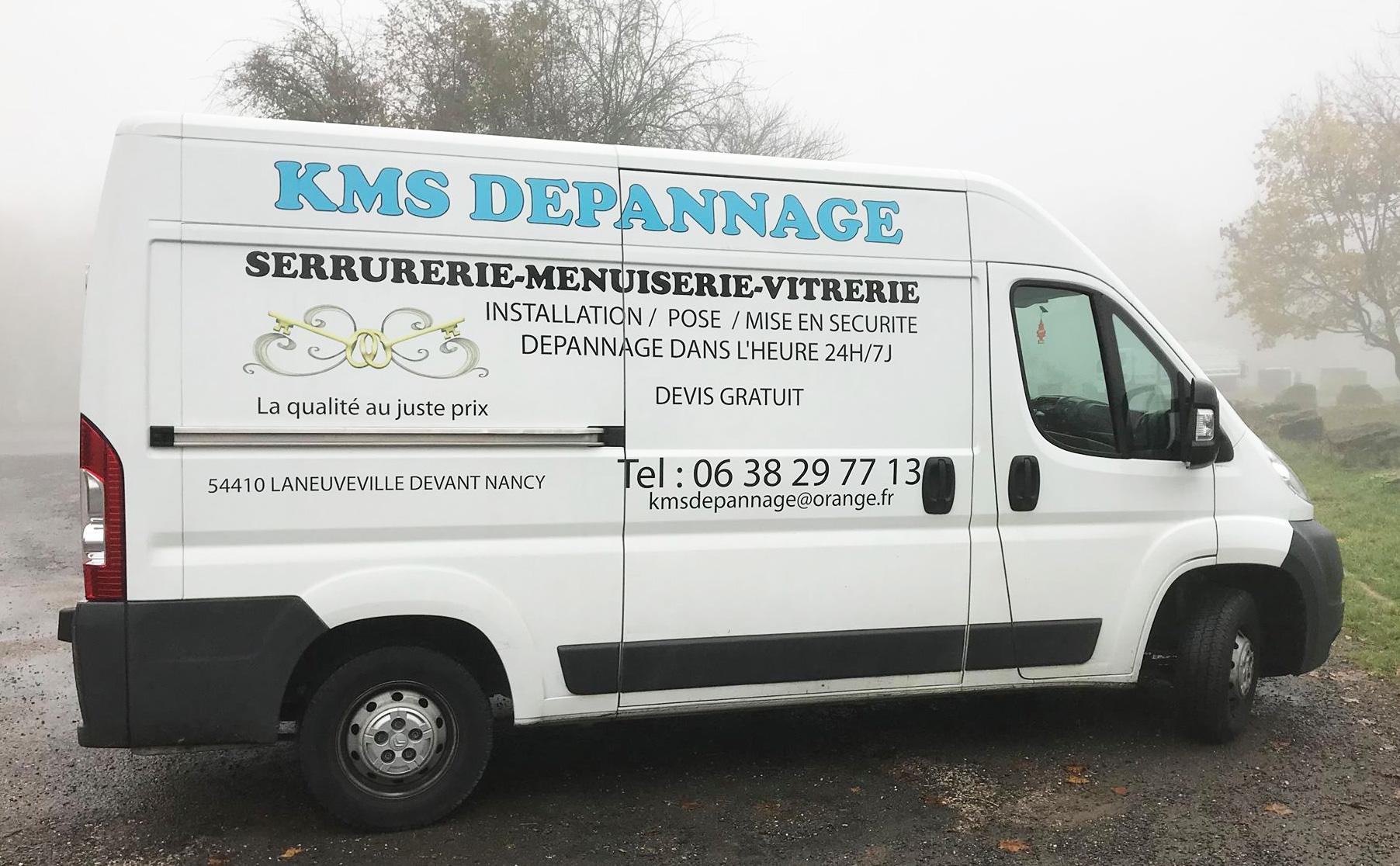 kms depannage nancy laneuveville serrurerie urgence menuiserie kaci