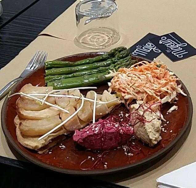nancy restaurant le majeur rue du grand rabbin haguenauer laure michel et matthieu knobloch vegetarien vegetalien vegan