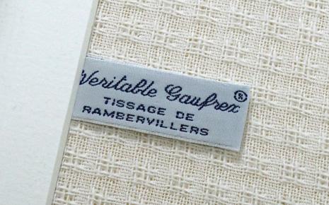 histoire de la marque gaufrex lorraine tissage de rambervillers