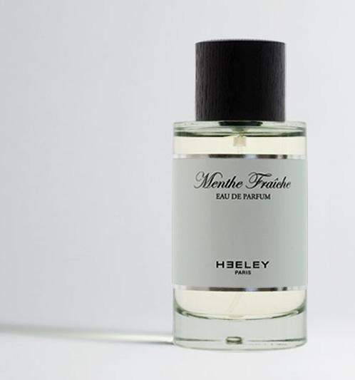 nancy parfumerie flacons rue saint dizier  jardins d'écrivains heeley menthe fraîche