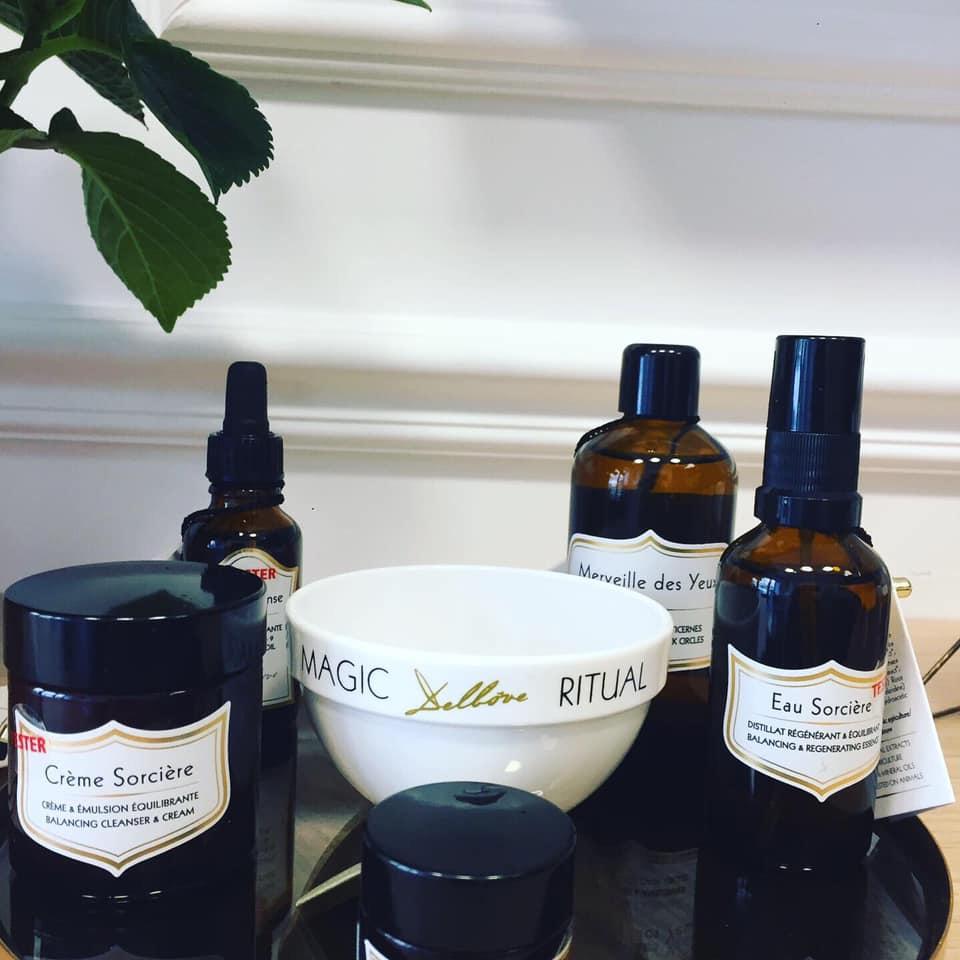 delbôve marque de cosmetique belge à nancy dans la parfumerie flacons