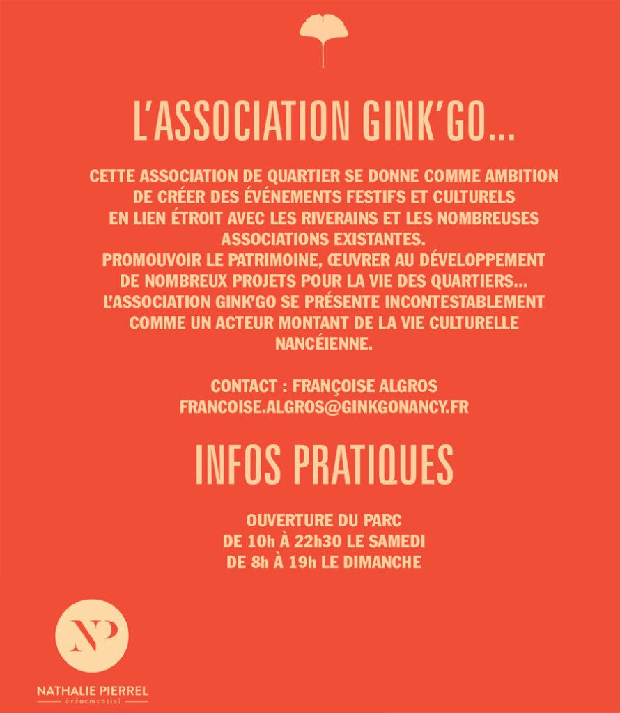 nancy week-end du parc sainte marie juin 2019 brocante association gingko