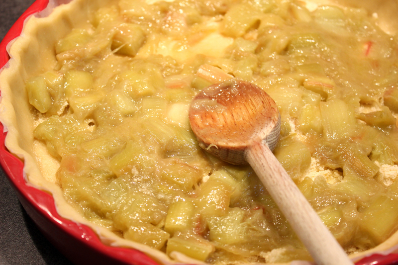 tarte rhubarbe fromage blanc
