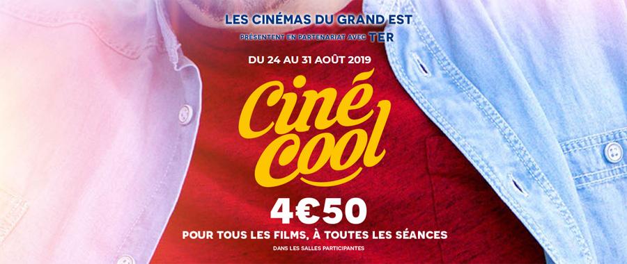 cine cool 2019 4.50€ la séance