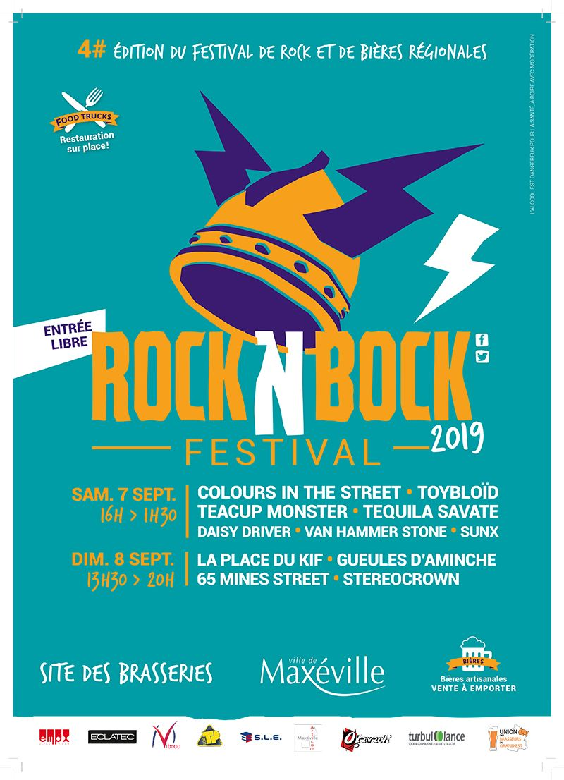 maxéville septembre 2019 festival rock n bock