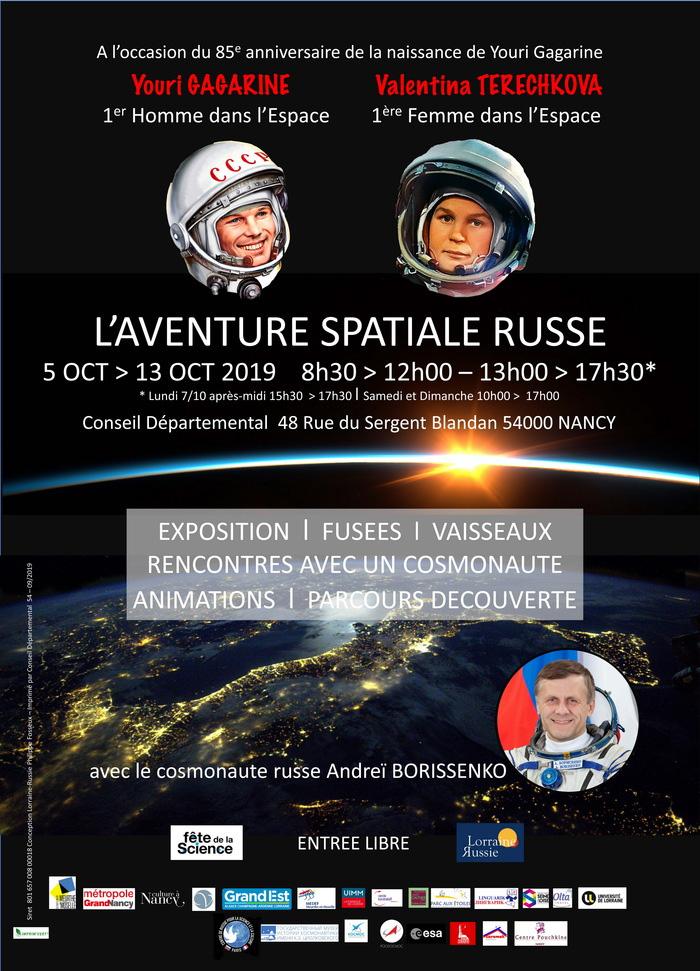 nancy aventure spatiale russe cosmonaute