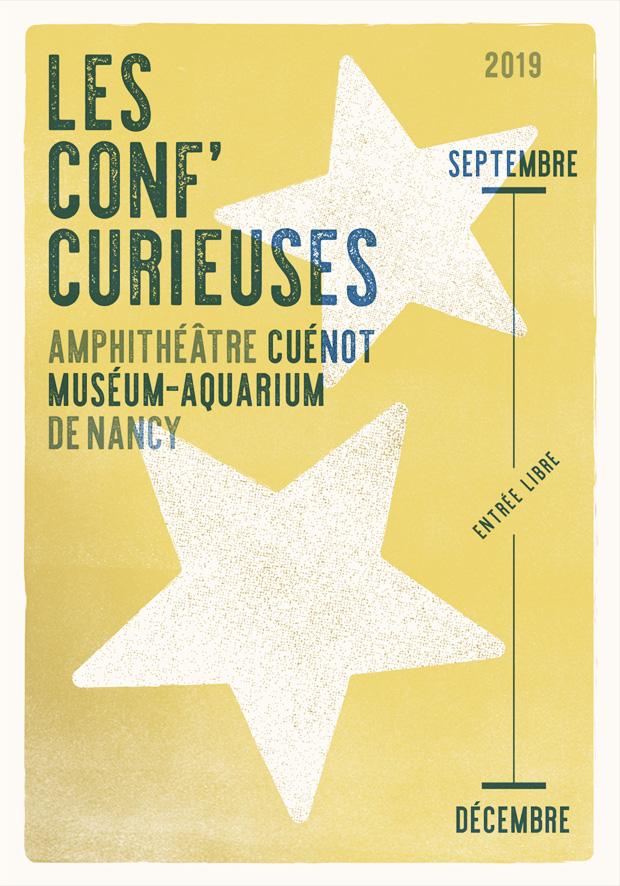programme de la rentrée 2019 des conf curieuses du museum aquarium de nancy