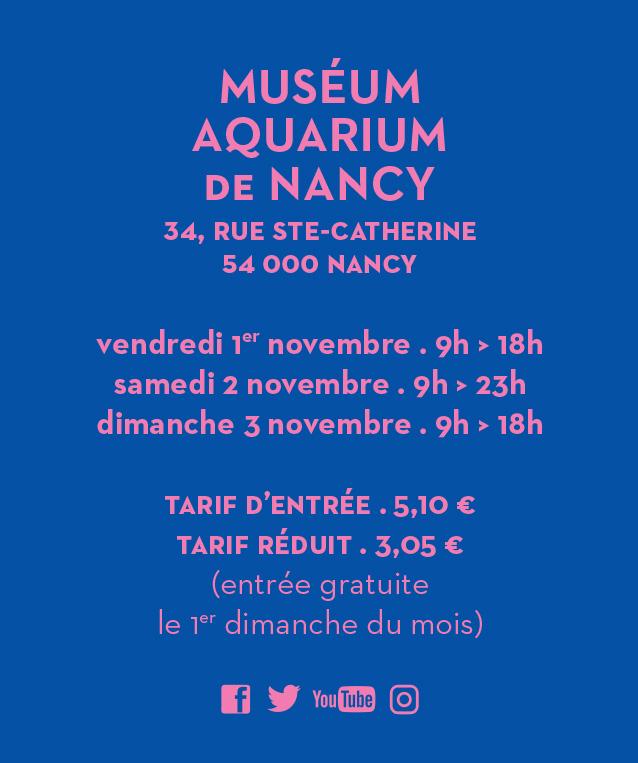 nancy reouverture musee aquarium