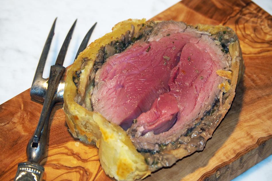 recettte de beouf wellington julien leprovost boucher à nancy