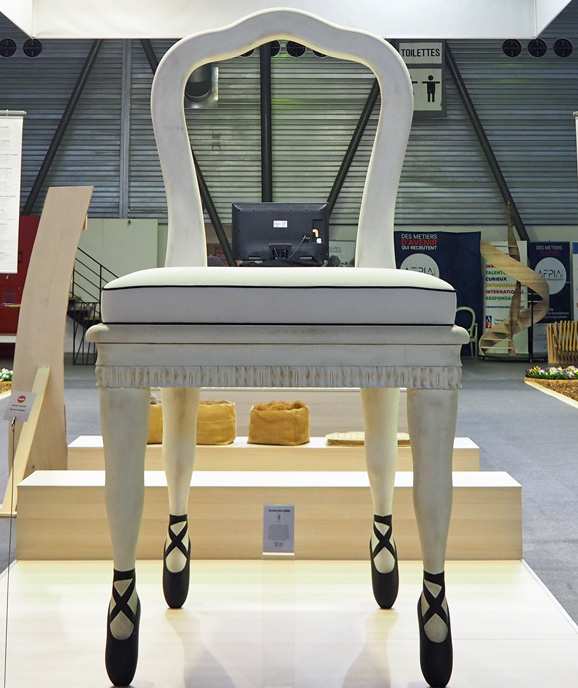 chaise ballerine siège de liffol