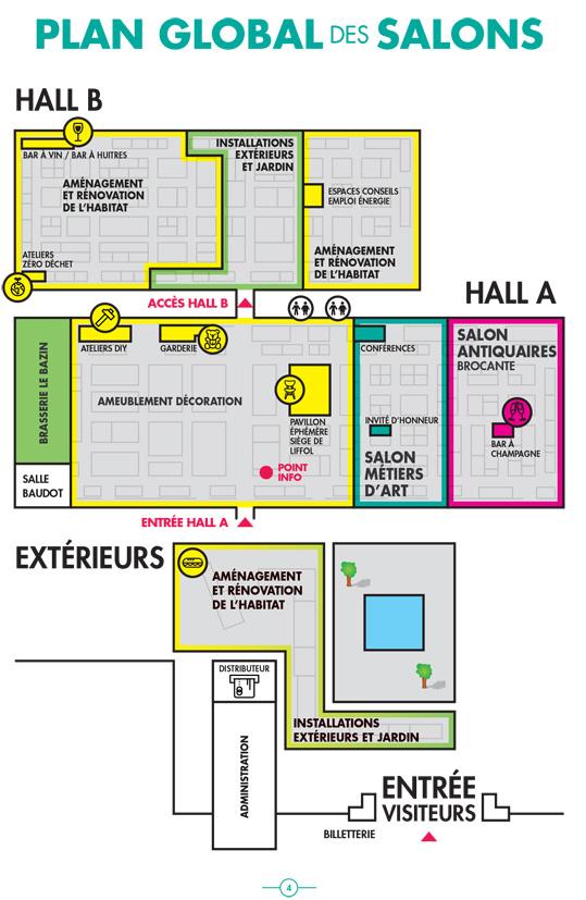 plan du salon habitat nancy fevrier 2020