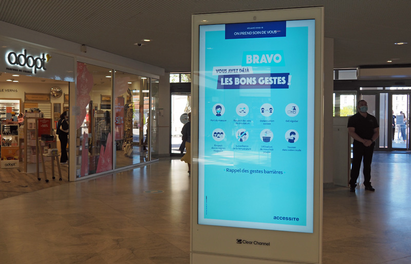 nancy centre commercial saint sebastien mesures barriere securite coronavirus